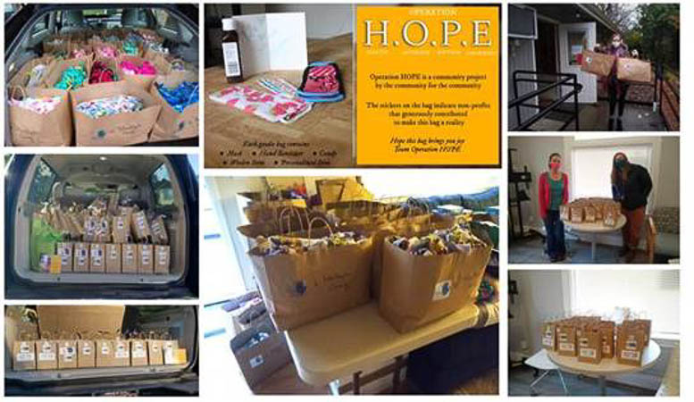 Operation HOPE – 485 Care Packages
